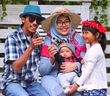 Kamal, Ratna, Osa en Bagja, juli 2019